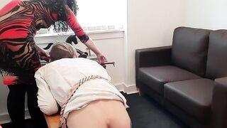 Schoolgirl Kylie Gets Spanked